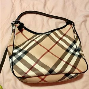Burberry hand bag/shoulder bag